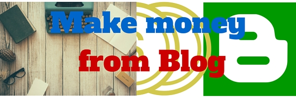 make money form blog