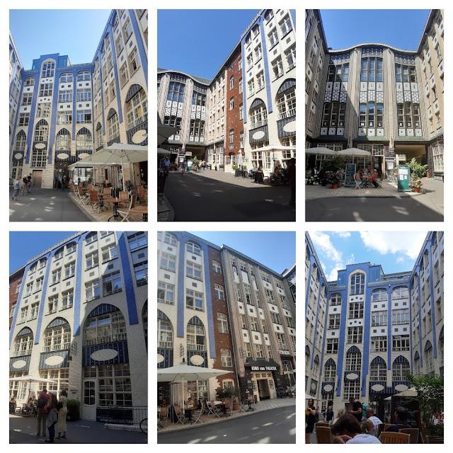 Hackescher Markt, Hackesche Höfe, Oranienburger Straße e Scheunenviertel em Berlim