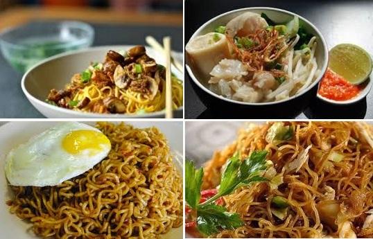 Kumpulan Resep Masakan Mie