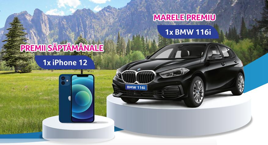 Concurs Zewa 2021 - Castiga o masina BMW 116i - promotie - castiga.net