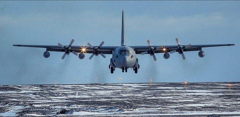 Dramática búsqueda de avión Fach en el paso Drake