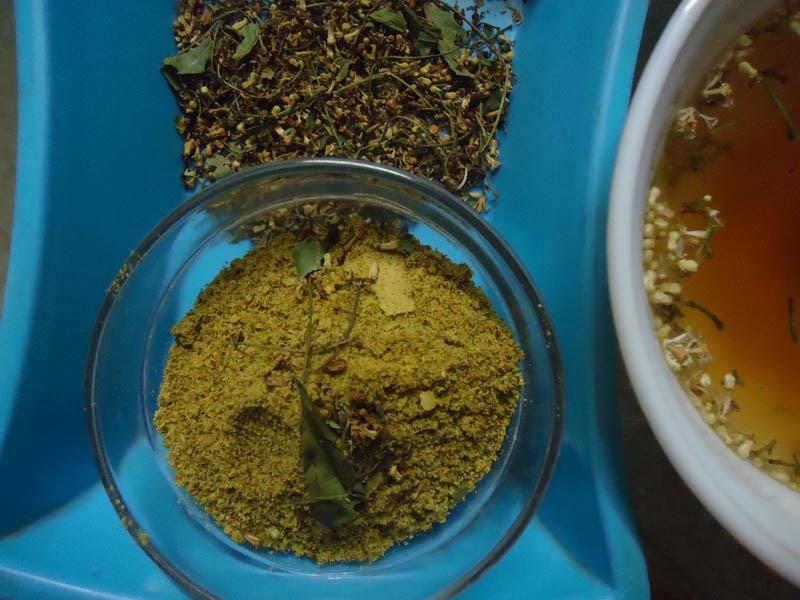 neem flower powder recipe