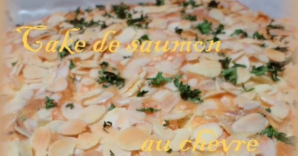 Cake Au Saumon Frais Et Courgette
