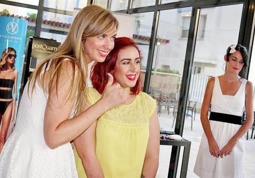 Monika Sanchez guapa al instante bella leo primer evento blogger alicante