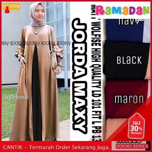 DDE062B56 Baju Muslim Wanita Gamis Lebaran Syari 2019 Pesta BMGShop