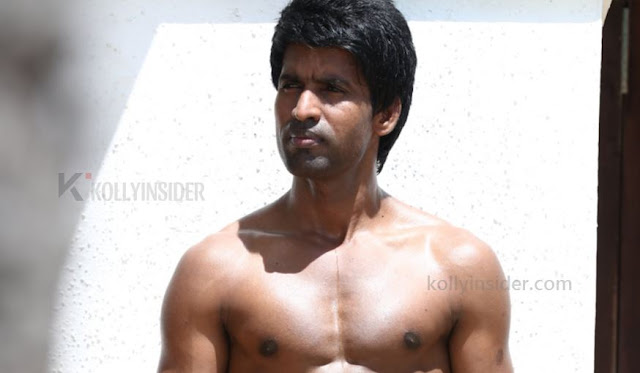 Soori goes shirtless to showoff his physique and the pic goes viral