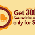 Buy $1 SoundCloud Plays (Cheap 300K Plays)