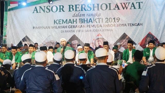 Habib Ali Zainal Abidin Assegaf: Ansor dan NU Tidak Ridla Negara Dijadikan Ajang Pecah Belah