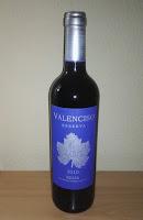 Valenciso Tinto Reserva 2010. D.o.c Rioja. Sibaritastur