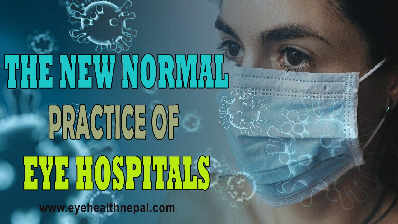 The new practice of eye hospital services on covid pandemic