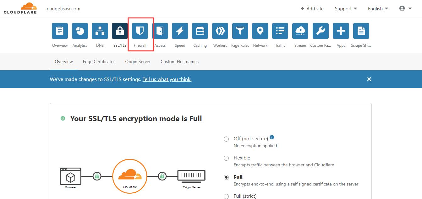Mengatur SSL dan Firewall - 3