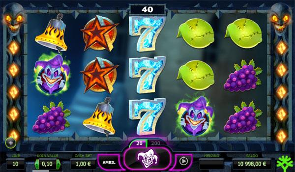 Main Gratis Slot Indonesia - The Dark Joker Rizes Yggdrasil