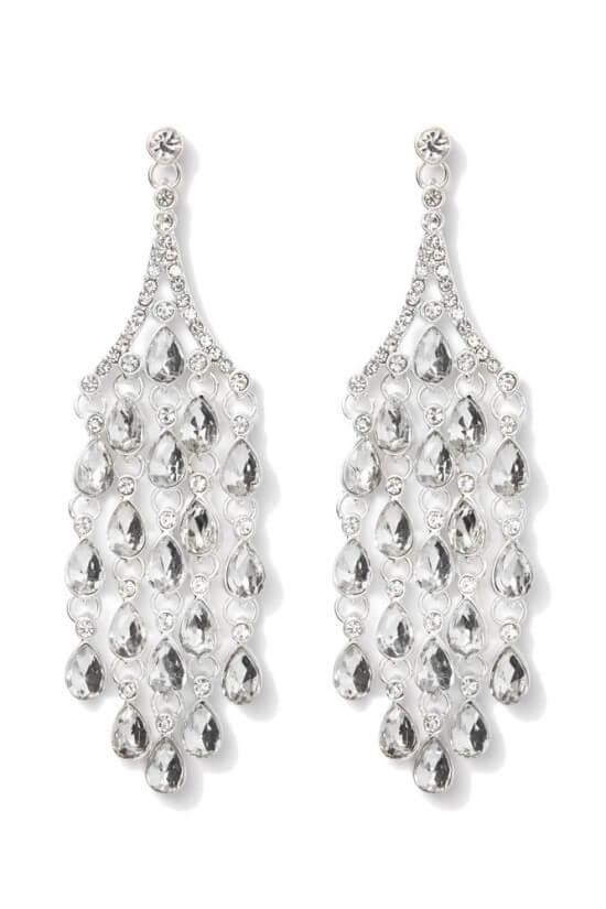 Charming Charlie beckinsale chandelier earrings