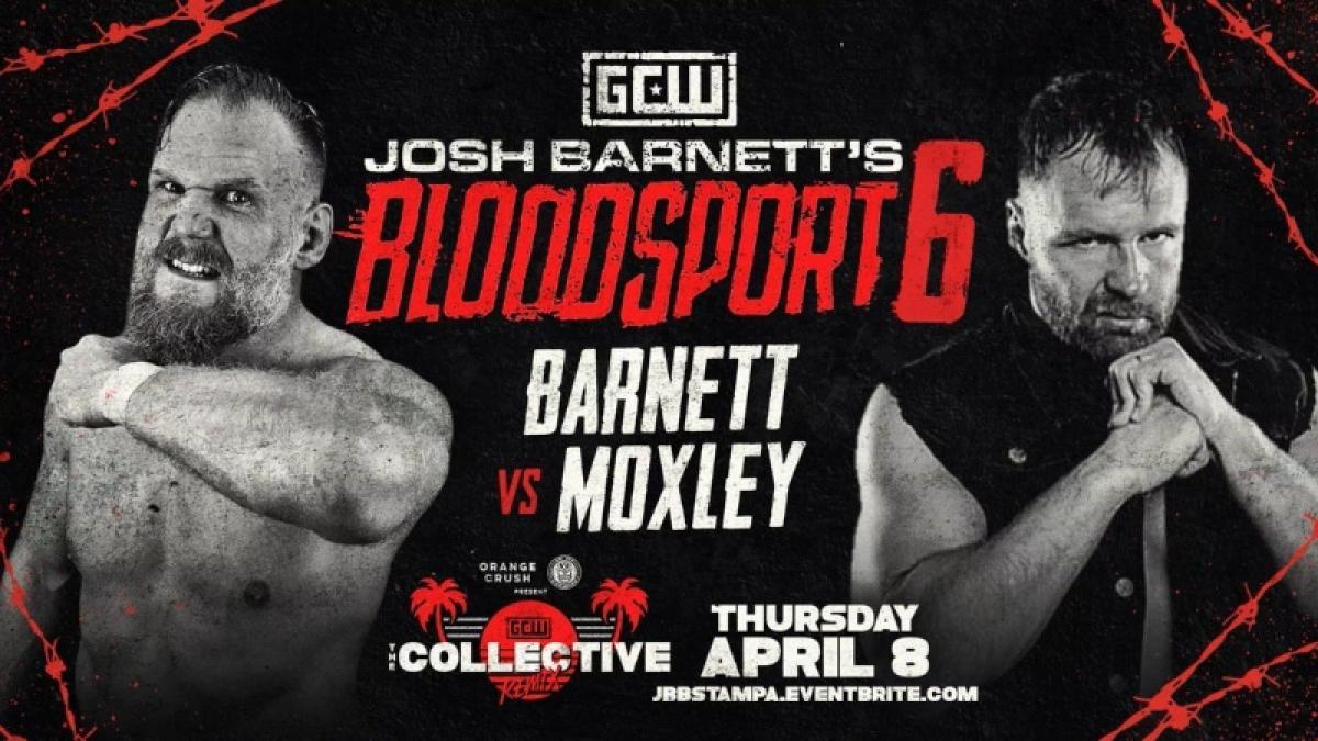 """Josh Barnett vs. Jon Moxley"" é anunciada para o Josh Barnett's Bloodsport 6"