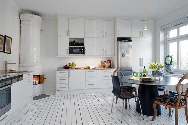 небольшая квартира-студия в скандинавском стиле