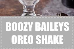 Boozy Baileys Oreo Shake