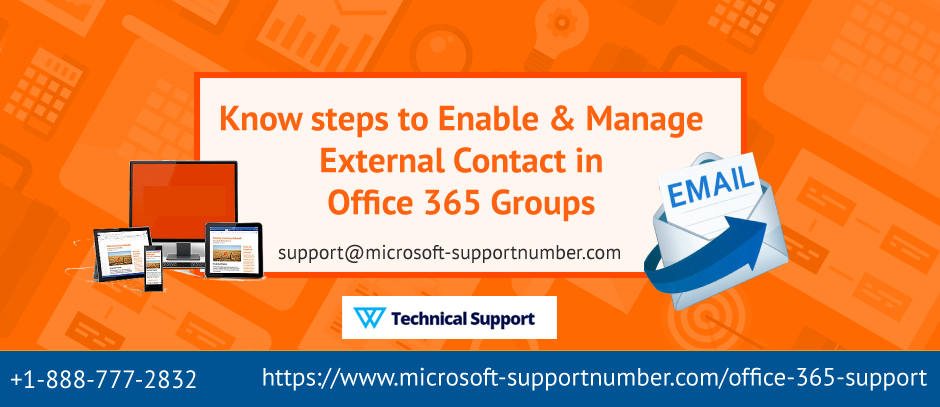 Know steps to Enable and Manage external contact in Office