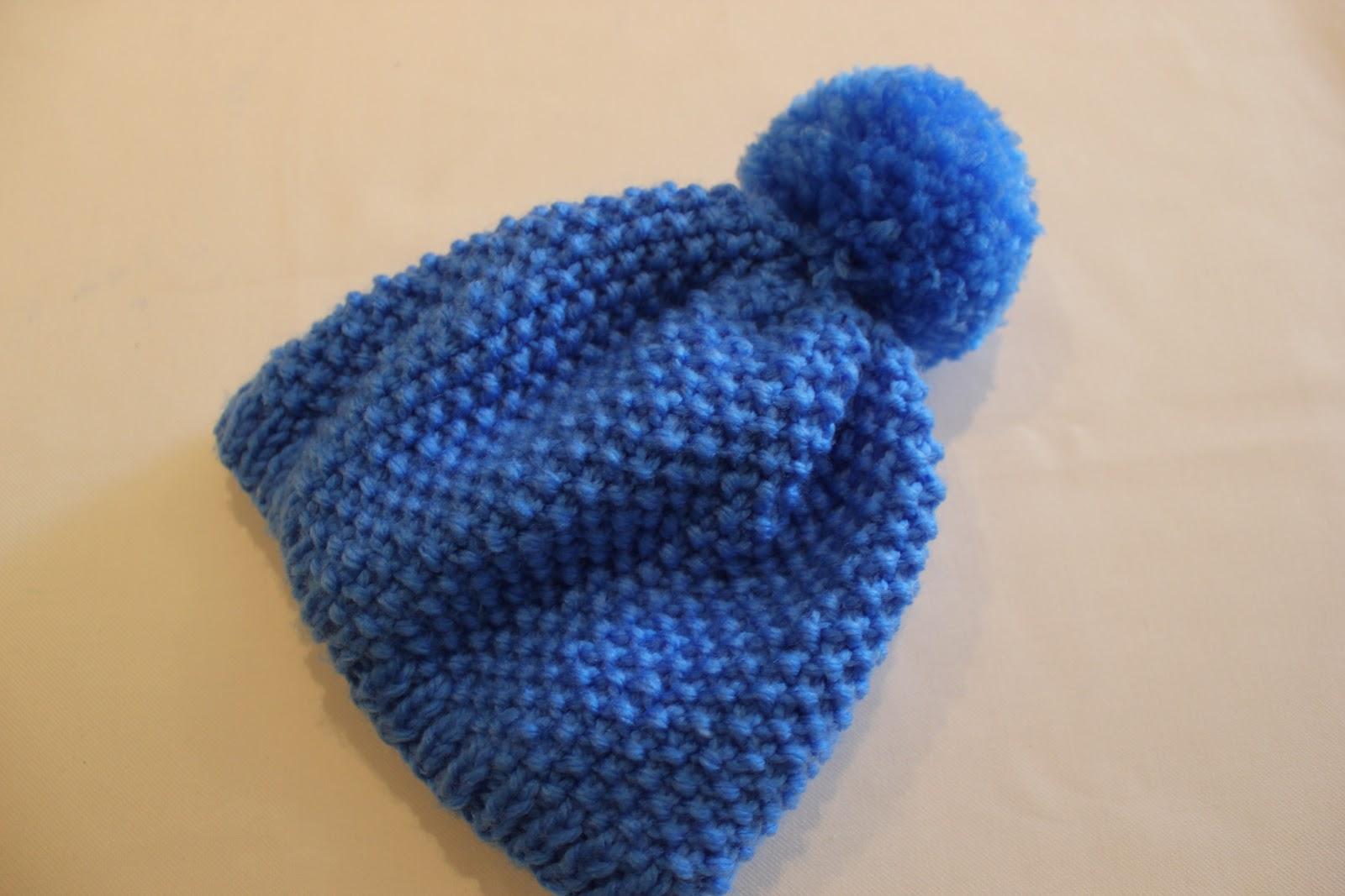 Aprender a tejer  Cómo hacer un gorro de lana con punto de arroz DIY ... 021cb5780d8