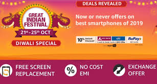 Amazon great indian sale . Amazon diwali sale