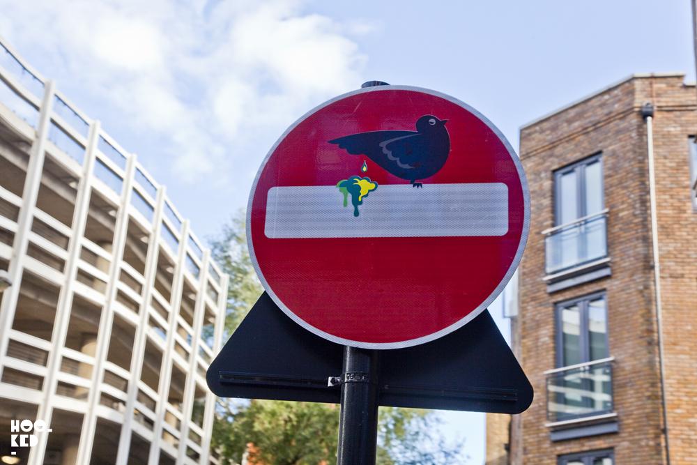 Clet Abraham London Street Art