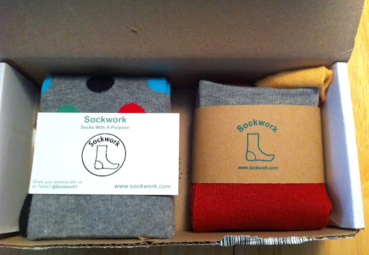 """Socks with a Purpose"" - New Subscription Sockwork Review and Promo Code"