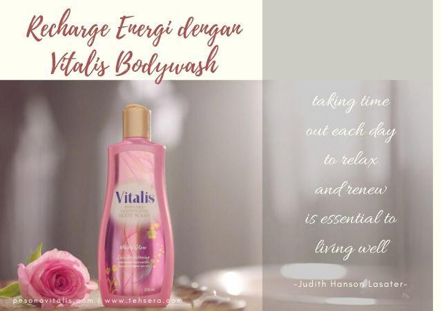 recharge energi dengan vitalis bodywash
