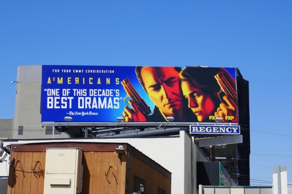 Americans final season Emmy FYC billboard