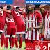 Olympiacos muda sua camisa devido a UEFA
