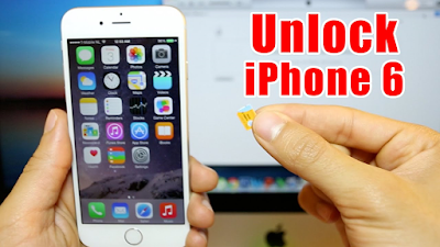Cach Unlock iPhone 6 de dang