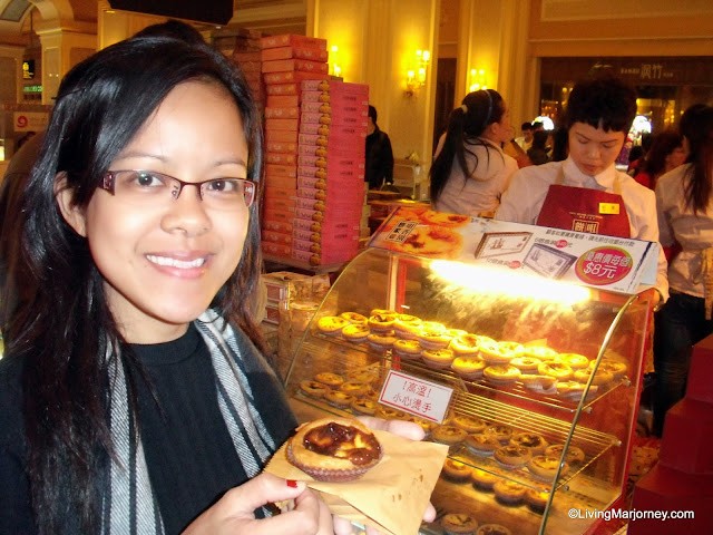 Eggtarts in Macau!