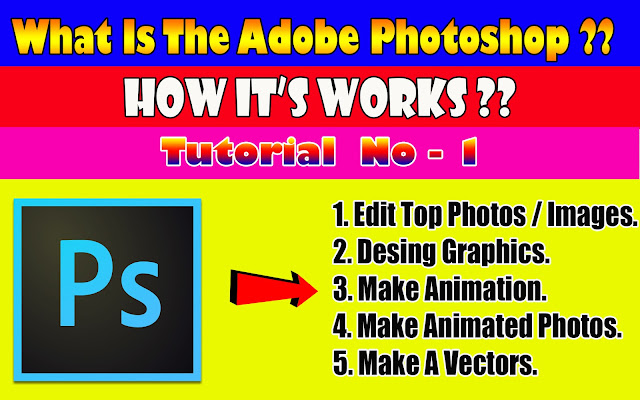 What Is The Adobe Photoshop & Learn About Photoshop | Tutorial - 1