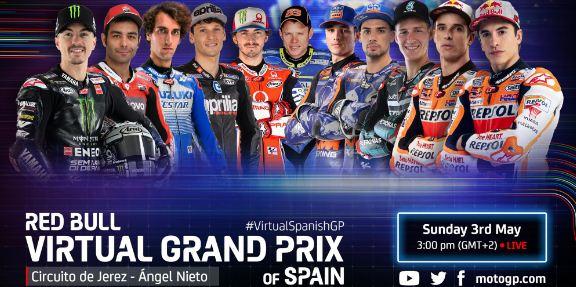 Jadwal MotoGP Virtual Race III, Berubah Nama Jadi Virtual Grand Prix