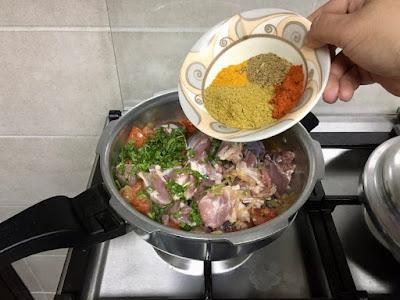 How to cook the biryani mutton gravy