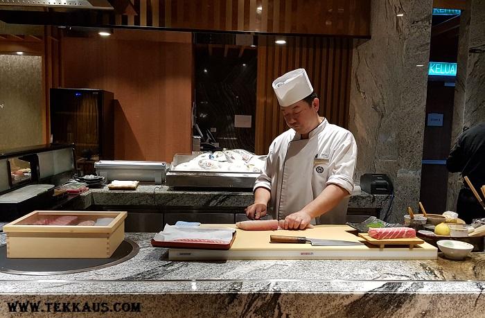 Miyabi Sheraton PJ-Japanese Chef Tetsuya Yanagida