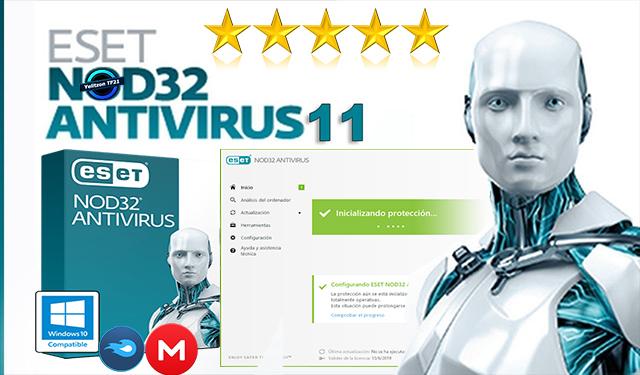 ESET NOD32 Antivirus 12 + License Key 2019 - Yelitzon PC