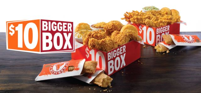 Popeyes 5 dollar box