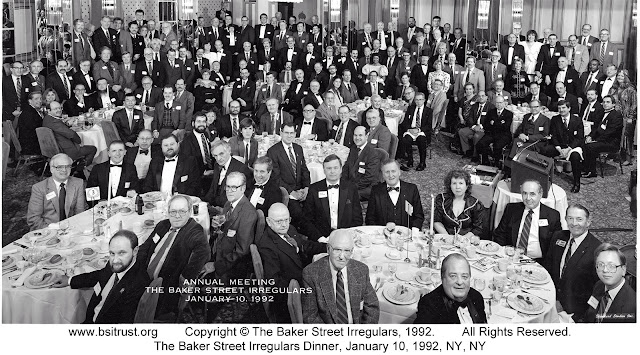 The 1992 BSI Dinner group photo