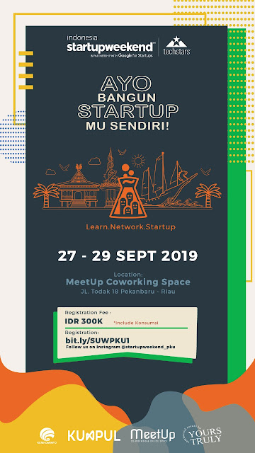 Startup Weekend Indonesia Chapter Pekanbaru