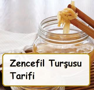 Zencefil Turşusu Tarifi