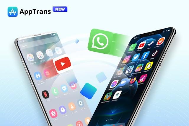 AppTrans - the world's first free solution for app data transfer