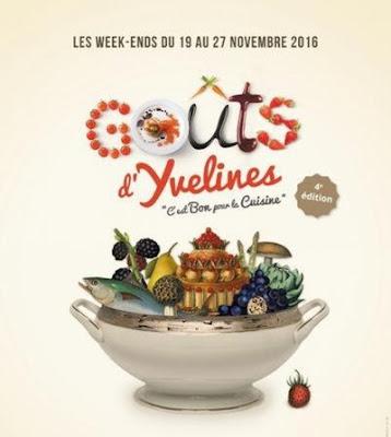 Affiche Goût d'Yvelines 2016