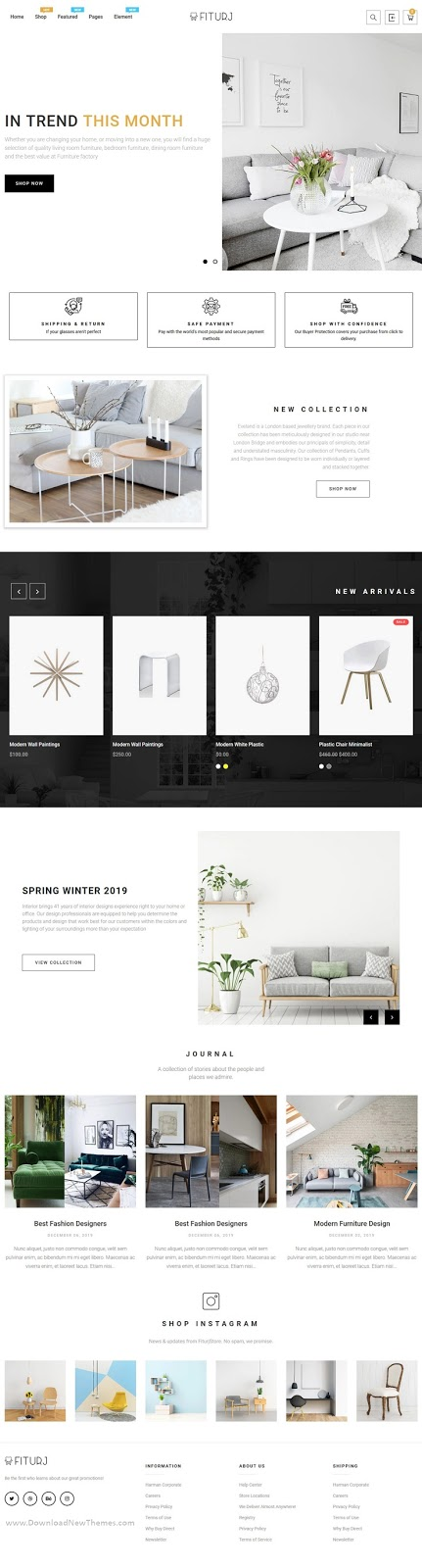 Modern Furniture Shopify Theme