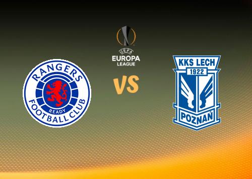 Glasgow Rangers vs Lech Poznań  Resumen