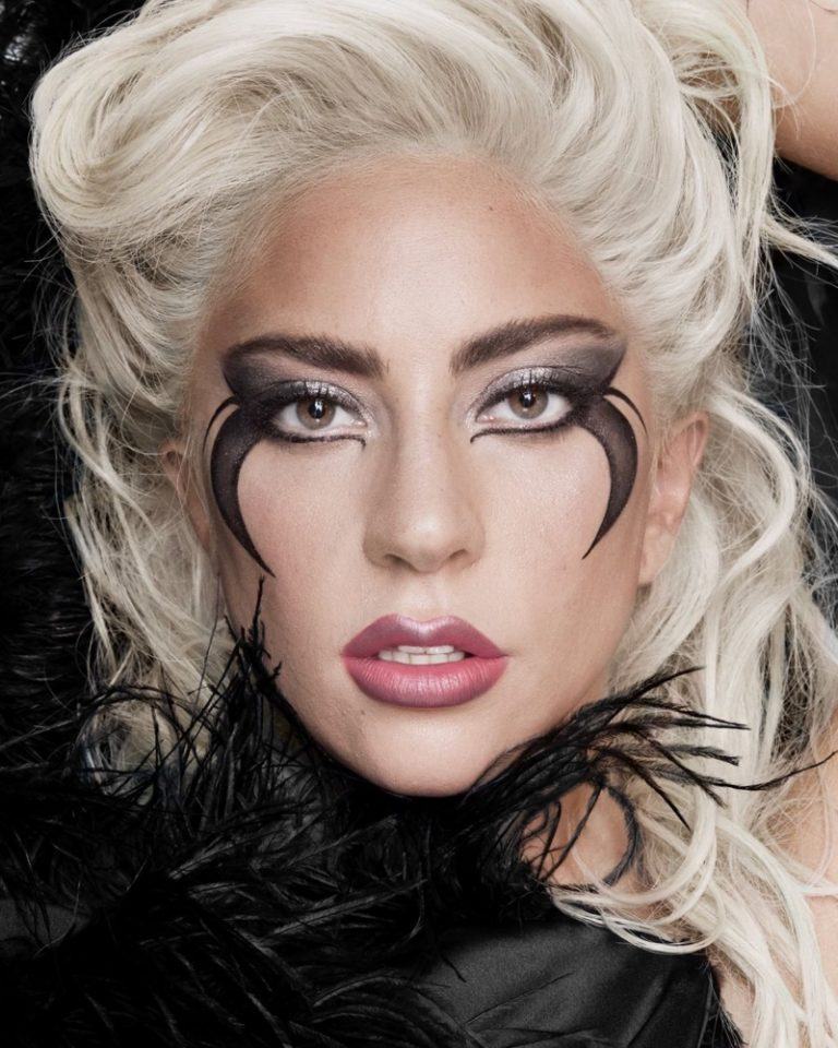 Lady Gaga wears Haus Laboratories Metalhead Collection makeup