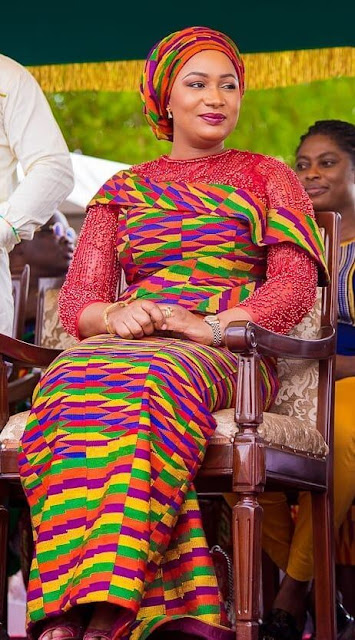 kente styles with lace fabrics have always created their statement with little or no assi ✘ 39 Stunning Kente Styles Mixed With Lace Attires For African American Women