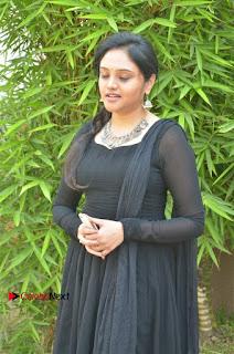 Actress Kala Kalyani Stills in Black Salwar Kameez at Engeyum Naan Iruppen Audio Launch  0010.jpg