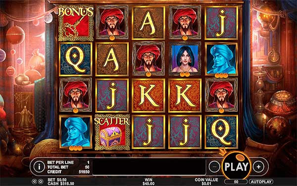 Main Gratis Slot Indonesia - Aladdin's Treasure (Pragmatic Play)