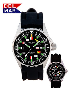 https://bellclocks.com/collections/del-mar-watches/products/del-mar-mens-200m-superglo-watch-black-nautical-dial-rubber-strap