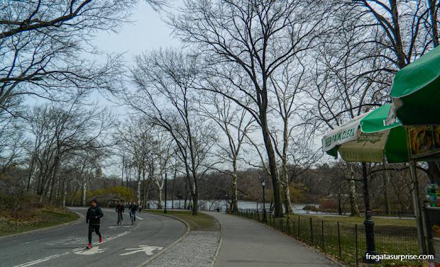 Pista de corrida no Central Park, Nova York
