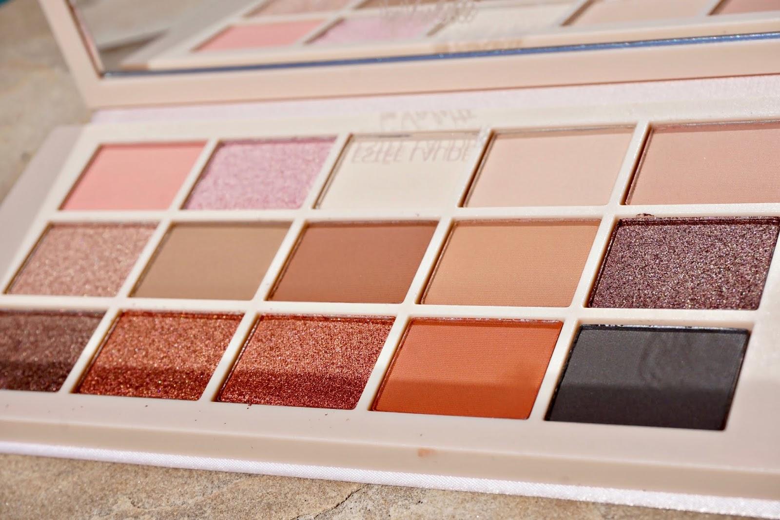 Estee Lauder Violette oh naturelle eyeshadow palette swetches